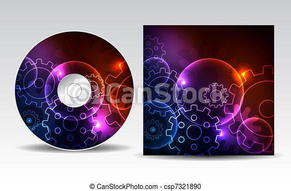 CD cover design - csp7321890
