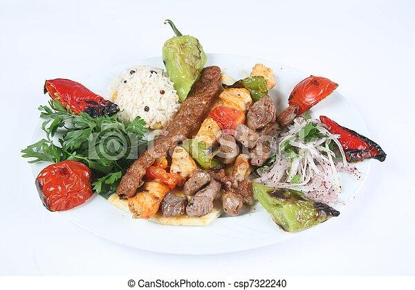 turkish kebab - csp7322240