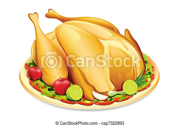 Roasted Holiday Turkey - csp7322893