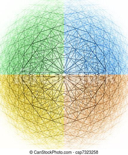 3d spherical structure - csp7323258