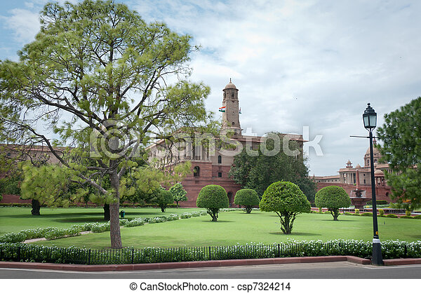 Residence of the president of India - csp7324214