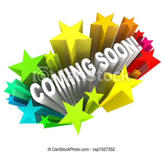 Coming Soon Announcement of New Product or Store Opening - csp7327352