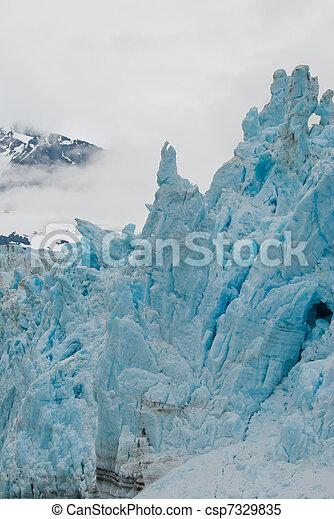 Towering glacial shapes - csp7329835