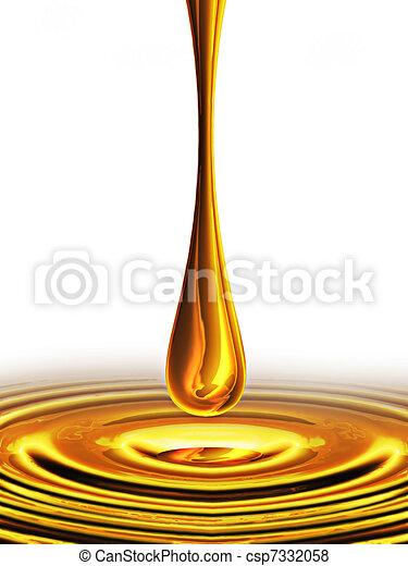 drop of oil - csp7332058