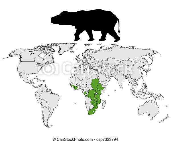 Hippo range - csp7333794