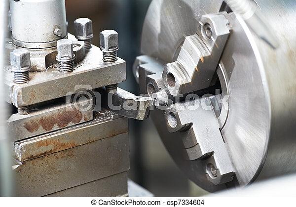 metal blank machining process - csp7334604