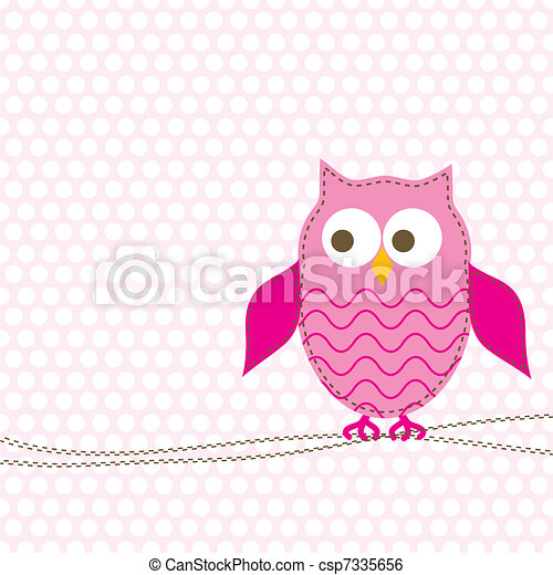 Template greeting card, vector - csp7335656