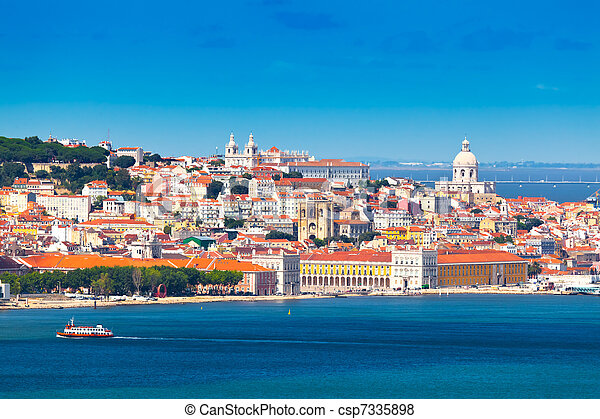 Lisbon, Portugal - csp7335898
