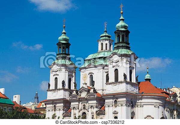 St. Nicholas Church, Prague - csp7336212