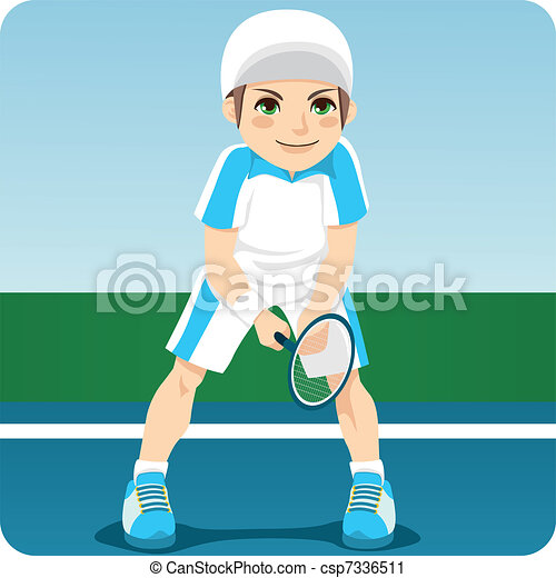 Professional Tennis Player - csp7336511