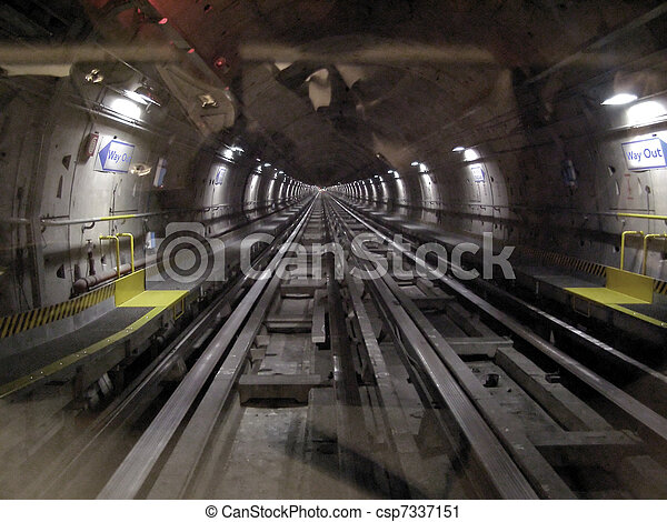 A picture of Tube underground subway metro tunnel