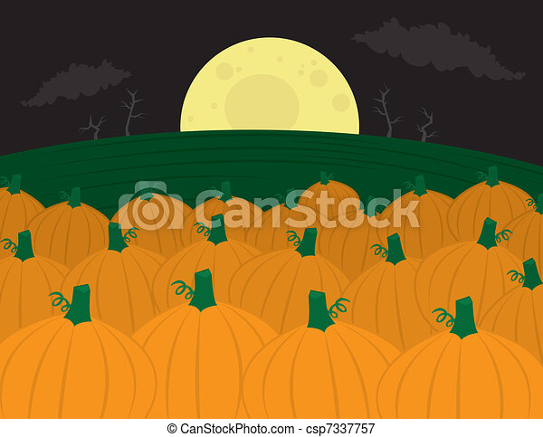 Pumpkin Patch - csp7337757