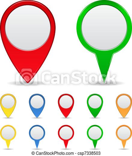 Map Markers - csp7338503