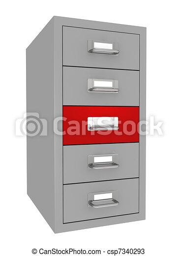 file drawer - csp7340293