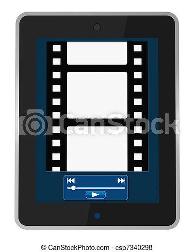 multimedia portable device - csp7340298