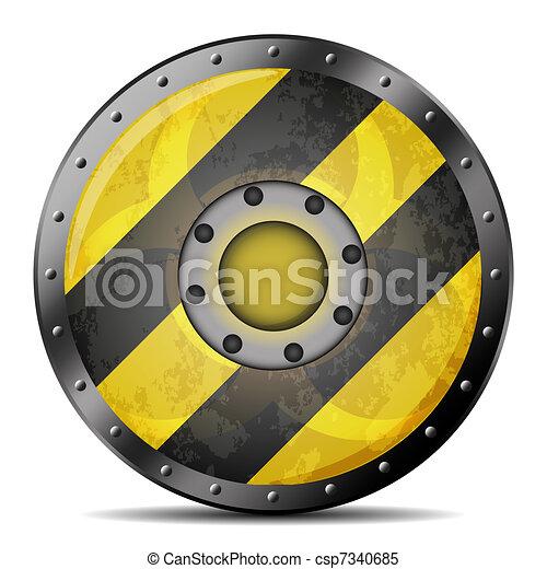 vector saving shield for your design - csp7340685