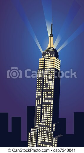 Empire State Building - csp7340841