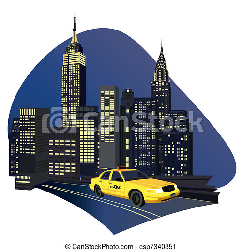 Clip Art New York City Clip Art manhattan illustrations and clipart 2912 royalty free new york city taxi illustration with skyscrapers a clipartby
