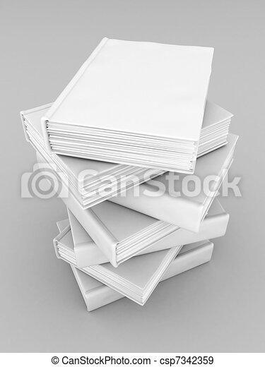Books bindings and Literature - csp7342359