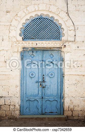 massawa eritrea east africa port city red sea architecture build - csp7342659
