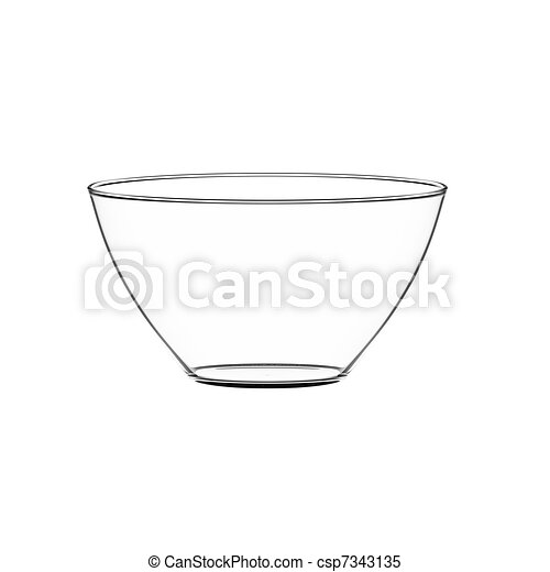 Bowl glass - csp7343135