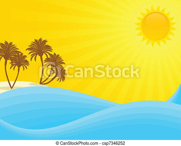 Summer! - csp7346252
