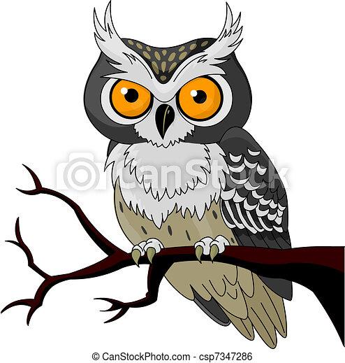 Night Owl  - csp7347286