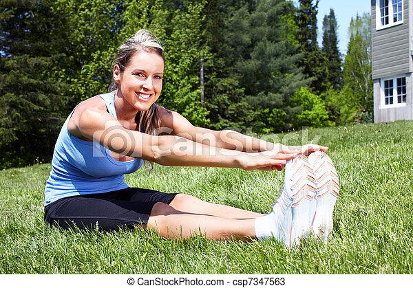 Yoga. - csp7347563