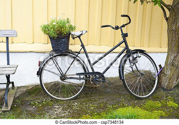 自転車, スカンジナビア人 - csp7348134
