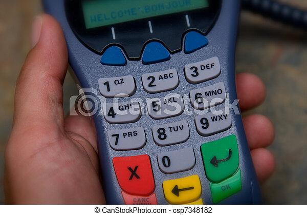Debit payment - csp7348182