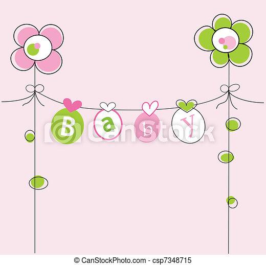 Baby Girl - csp7348715