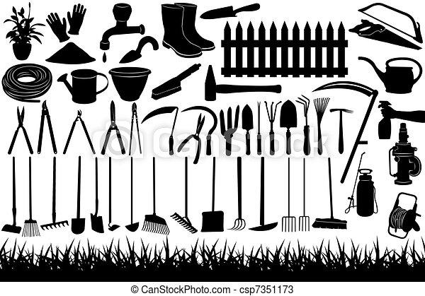 Dessins de jardinage outils illustration de jardinage for Dessin outils jardinage