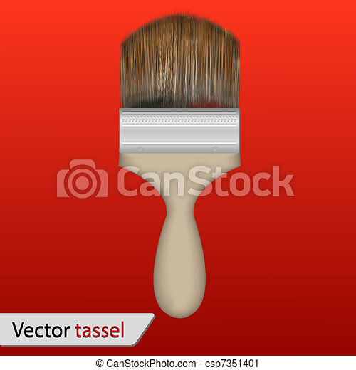 Vector tassel for your design - csp7351401