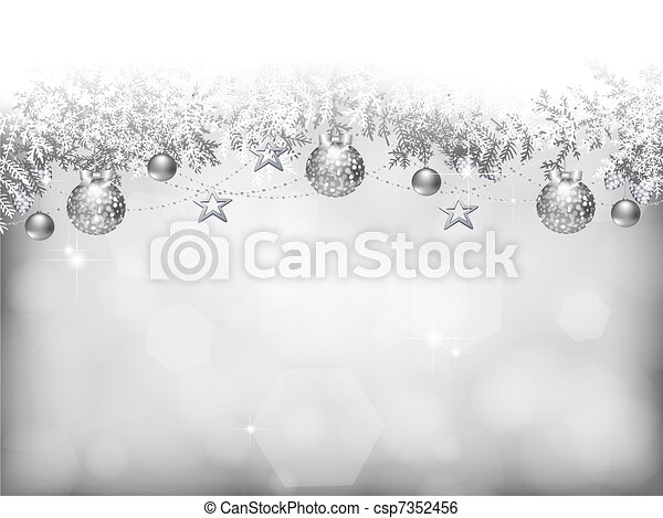Christmas background - csp7352456