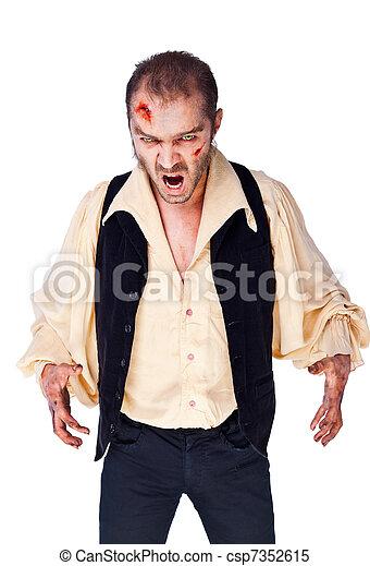 vampire evil zombie - csp7352615