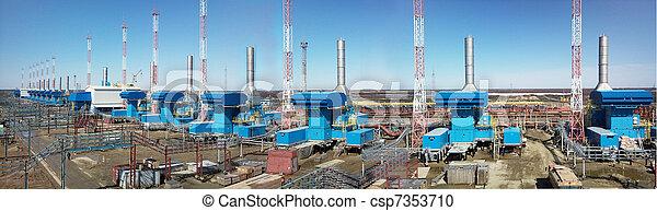 panorama gas stations - csp7353710