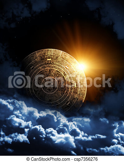 Maya prophecy  - csp7356276
