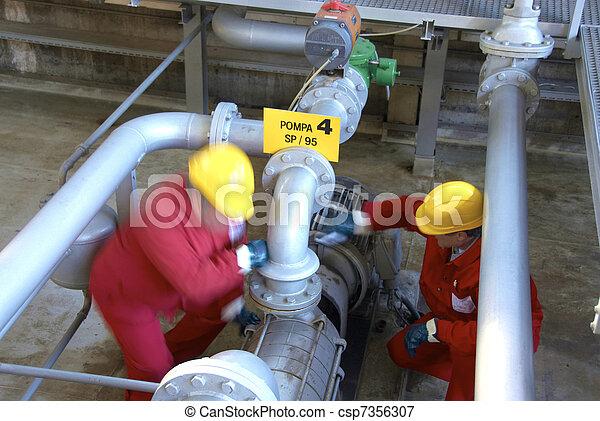 petrochemical refinery - csp7356307