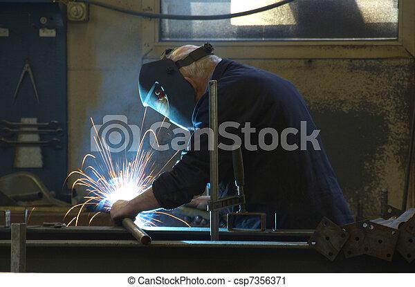 manufacturing steel - csp7356371