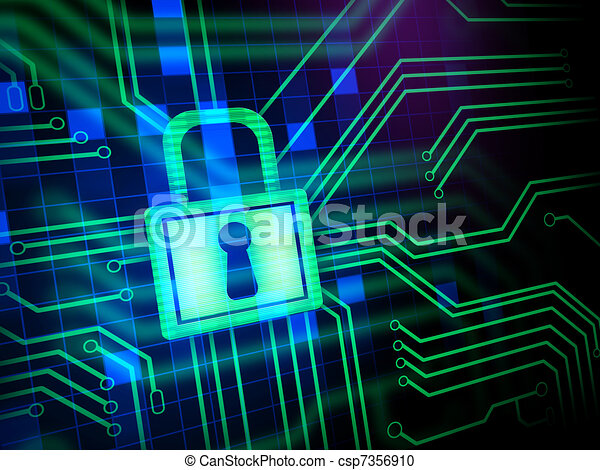 sicurezza,  Cyber - csp7356910