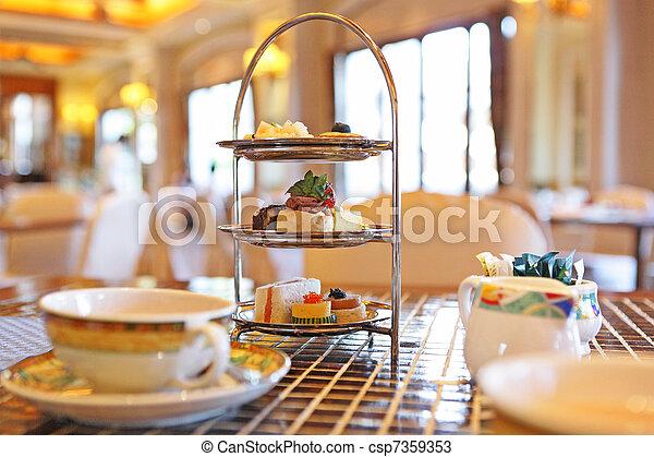 Afternoon tea - csp7359353
