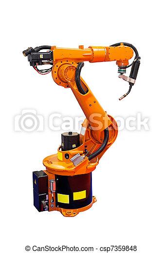 Robot welder - csp7359848