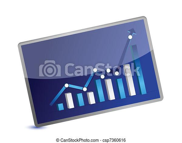 Business Graph presentation - csp7360616