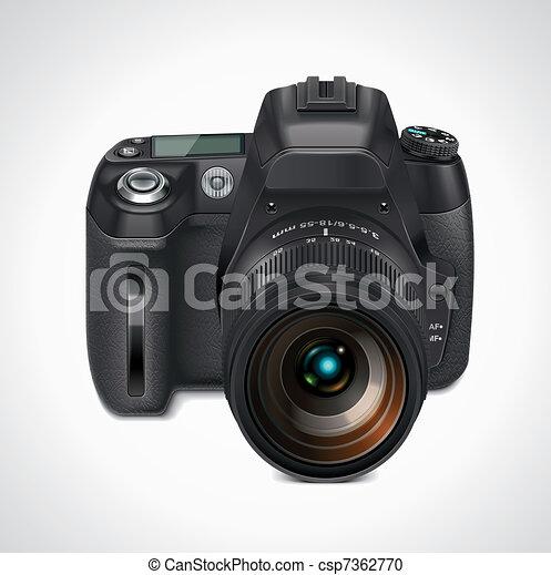 Vector SLR camera XXL icon - csp7362770