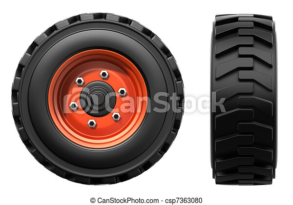 truck wheels - csp7363080