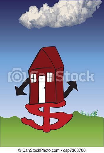 housing crisis - csp7363708