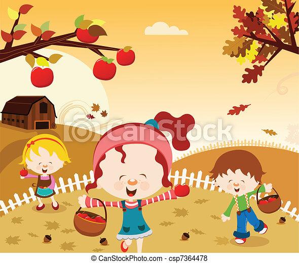 Fun Harvest - csp7364478