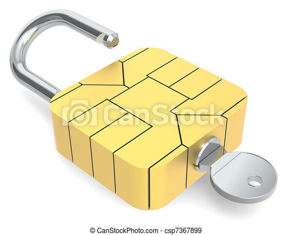 Secure online payment.  - csp7367899