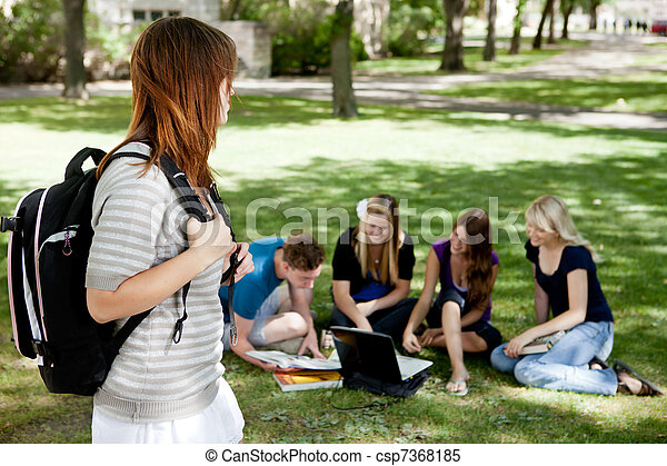 University Students Study Group - csp7368185