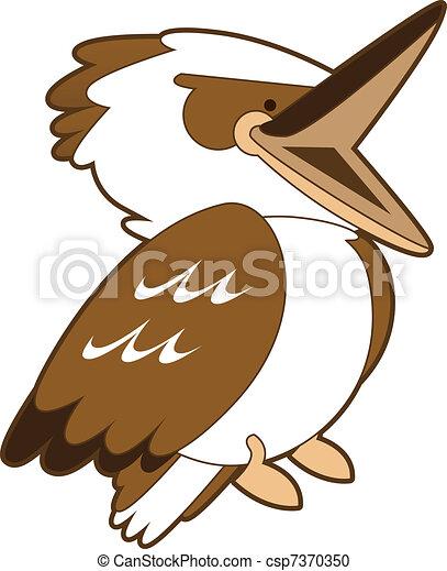 laughing kookaburra drawing